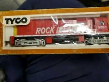TYCO 4301 ROCK ISLAND HO SCALE TRAIN ENGINE