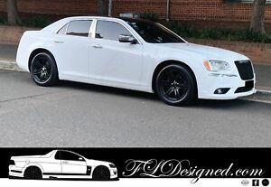 Chrysler 300 300C 2011,12,13,14,15,16,17,2018 Chrome Pillar Post door covers-FLD