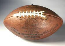 Vintage NFL O Duque Pete rozelle Thorp Futebol Sporting Goods 9aa77e056a71f