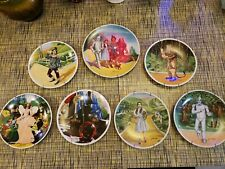 Wizard Of Oz Knowles 1979 Collectors Plates Set Of 7