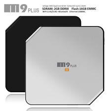 M9 Plus 4K Amlogic Quad Core 3D 2G/16GB Bluetooth WiFi Android 5.1 TV Box Silver