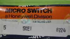 MICROSWITCH 5XE1 SWITCH *NEW IN BOX*