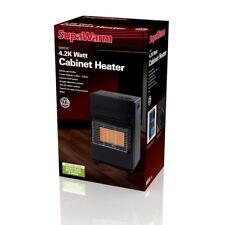 Supawarm 3 réglages de chaleur Portable Butane Calor gaz Espace Armoire Radiateur - 4.2 kW