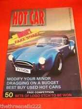 HOT CAR - UNIQUE'S FAKE SNAKE - JUNE 1990