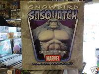 Snowbird Sasquatch Tranmutation Variant Marvel Comics Mini Bust