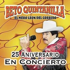 NEW - 25 Aniversario: En Vivo by Quintanilla, Beto