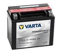 Batterie moto Varta YTX12-4 / YTX12-BS 12V 10ah