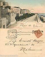 Cartolina di Siracusa, panorama