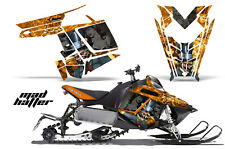 Sled Graphics Kit Decal Sticker Wrap For Polaris Pro RMK Rush 11-16 HATTER K Y