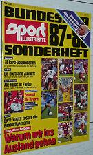 FUSSBALL BUNDESLIGA 1987-88 SONDERHEFT GUIDE BREMEN FRANKFURT KICKERS FOOTBALL