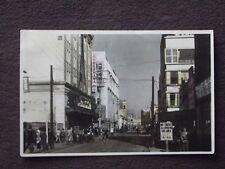ISEZAKICHO ST, YOKOHAMA JAPAN - ARMY P.X. Vtg COLOR TINTED PHOTO POSTCARD