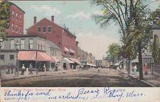 NEWBURYPORT, MA ~ A SLOW DAY on STATE STREET ~ 1905 BEAUTY