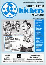 II. BL 90/91  Stuttgarter Kickers - FC St. Pauli, 23.06.1991
