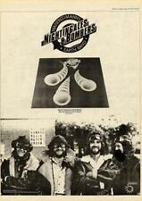Manfred Mann's Earthband 1975 UK Nightingales & Bombers record advert MM-FGYU