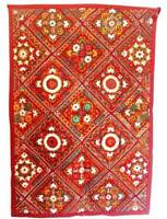 Wall Art Tapestry Indian Bohemian Embroidered Vintage Patchwork Old Hanging Art