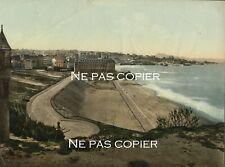 BIARRITZ la plage et la mer photochrome vers 1890-1900 Pyrénées-Atlantiques 64