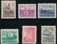 Stamp Germany Estland Mi 4-9 Sc NB1 1941 WWII 3rd Reich EESTI Estonia Set MNH