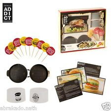 COFFRET HAMBURGER PRESSE A STEACK PIC FUN EMPORTE PIECE CUISINE