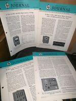 Hewlett Packard Journal Technical Information From The Laboratories! 1955 April