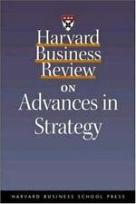Harvard Business Review on Advances in Strategy, , Good Condition, Book