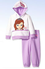 DISNEY Toddler Girls' SOFIA The First 2-Peice Hoodie Pants Set - Lilac - Size 2T