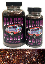 1lb Blakes Metal Flake Bronze Dark Brown Rootbeer loose Hot Rod