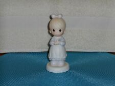 Precious Moments The Good Lord Always Delivers Figurine 1989 Enesco Mother to Be