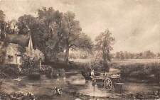 The Haywain, John Constable, Carriage, R.A. National Gallery, 1945