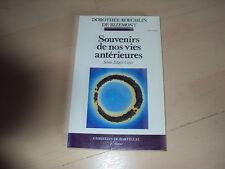 livre SOUVENIRS DE NOS VIES ANTERIEURES selon Edgar Cayce
