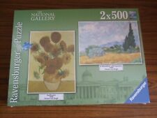 Ravensburger 2 x 500 piece Jigsaw Puzzles * NEW & SEALED * The National Gallery