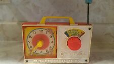 FISHER PRICE HICKORY DICKORY DOCK MUSICAL WIND UP TOY #107 WITH CLOCK