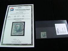 """U.S. Scott #226 Used PSE Graded Superb 98 """"Daniel Webster"""" 10c Green Super Nice!"""