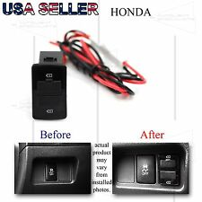 FOR HONDA CR-V/ODYSSEY/ELEMENT DUAL USB POWER ADAPTER 12V DIRECT FIT PNP UPGRADE