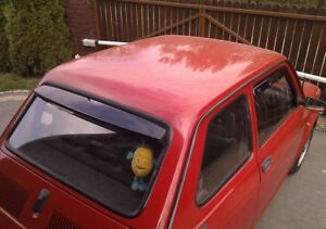 Classic Fiat 126 - Rear Screen Spoiler