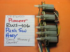 PIONEER RWS-106 PUSH SWITCH BANK TIMER MEMORY COUNTER CT-F1050 CASSETTE DECK