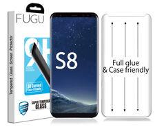 FUGU Samsung Galaxy S8 Full Glue Adhesive Tempered Glass Screen Protector