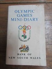MELBOURNE 1956 OLYMPIC GAMES SOUVENIR BROCHURE MINI DIARY MAP GUIDE