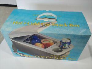 Sharper Image Hot & Cold Car Snack Box - New in Box