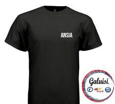 T-SHIRT ANSIA uomo donna 100% COTONE tshirt maglietta