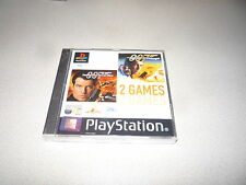 TOMORROW NEVER DIES/THE WORLD IS NOT ENOUGH PLAYSTATION ONE PS1