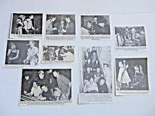 X Exene Cervenka JOHN DOE original magazine clippings LOT of 9 rare 1980's punk