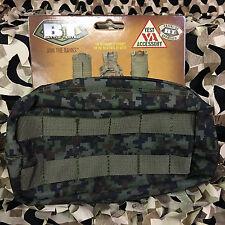 New Bt Zipper Large Molle Vest Paintball Pouch - Woodland Digi Camo (36732)