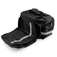 AU Mountain Bicycle Rear Tail Seat Pannier Bag Pouch Rack Trunk Travel Case