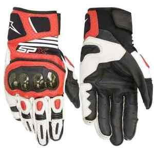 Alpinestars SP X Air Carbon V2 Leather Mens Racing Sport Bike Motorcycle Gloves