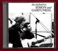 SIMON AND GARFUNKEL - The Definitive (1991 20 trk CD album)