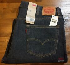 LEVI'S 550 Relaxed Fit Waterless Distressed JEANS Men's 40 x 30 (2765-Range) NWT
