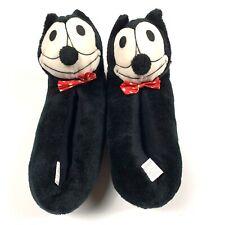 Felix The Cat Plush Stuffed Animal Slipper Shoes By Dondi Vintage 1982
