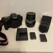 CANON EOS REBEL T6s W/28-200 LENS - EOS 760D 24.2MP Digital SLR Camera