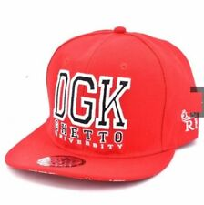 DGK Snapback Cap Visor for Men (Red)