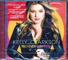 KELLY CLARKSON - ALL I NEVER WANTED - CD (NUOVO SIGILLATO)
